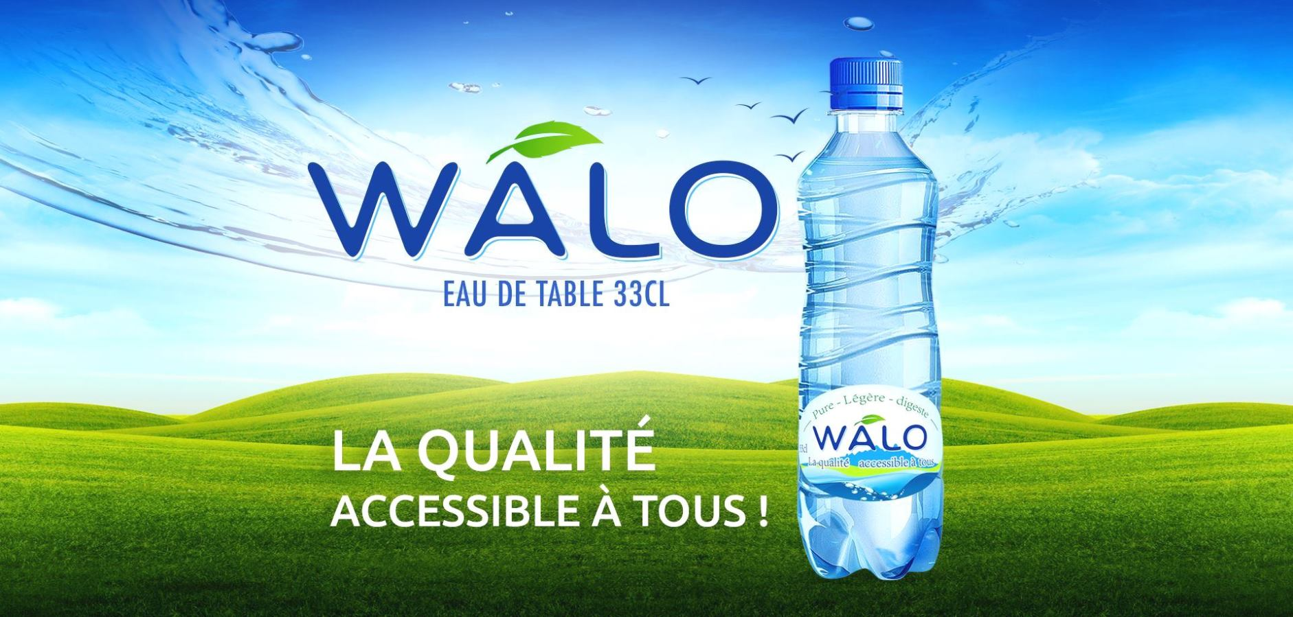eau pure conditionnée au sénégal : walo par fary industrie